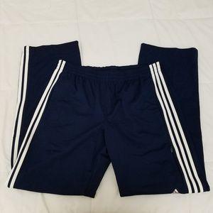 NWOT Adidas Casual Pants Mens Large Navy Blue
